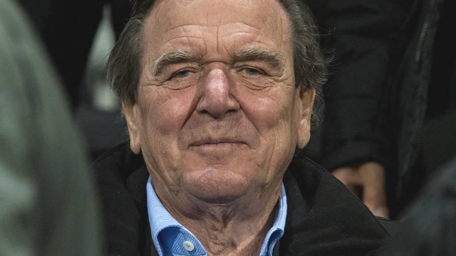 Gerhard Schröder freut sich über sein privates Glück: Offenbar ist der Altkanzler neu verliebt.