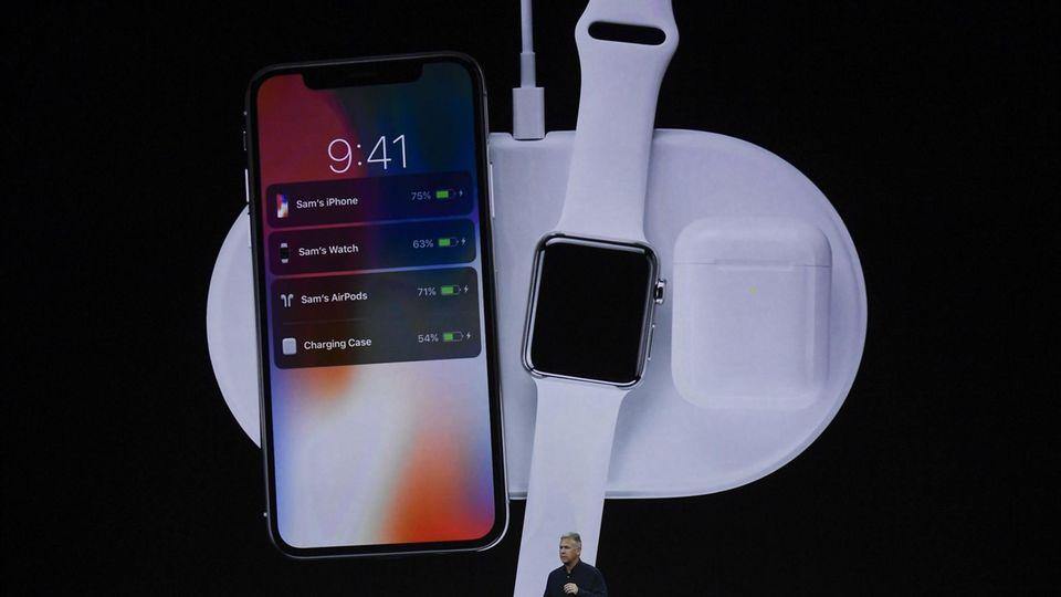 Das neue Iphone X und die Apple Watch 3