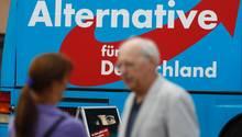 Ein AfD-Wahlplakat