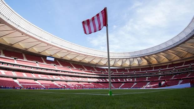 Das neue Stadion von Atletico Madrid, das Estadio Metropolitano, wo 2019 das Champions LEague Finale stattfindet