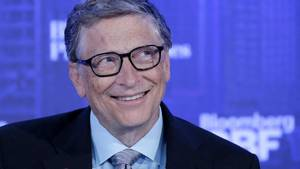 Bill Gates bei dem Global Business Forum