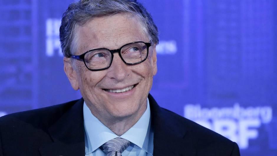 Bill Gates bei dem Global Business Forum