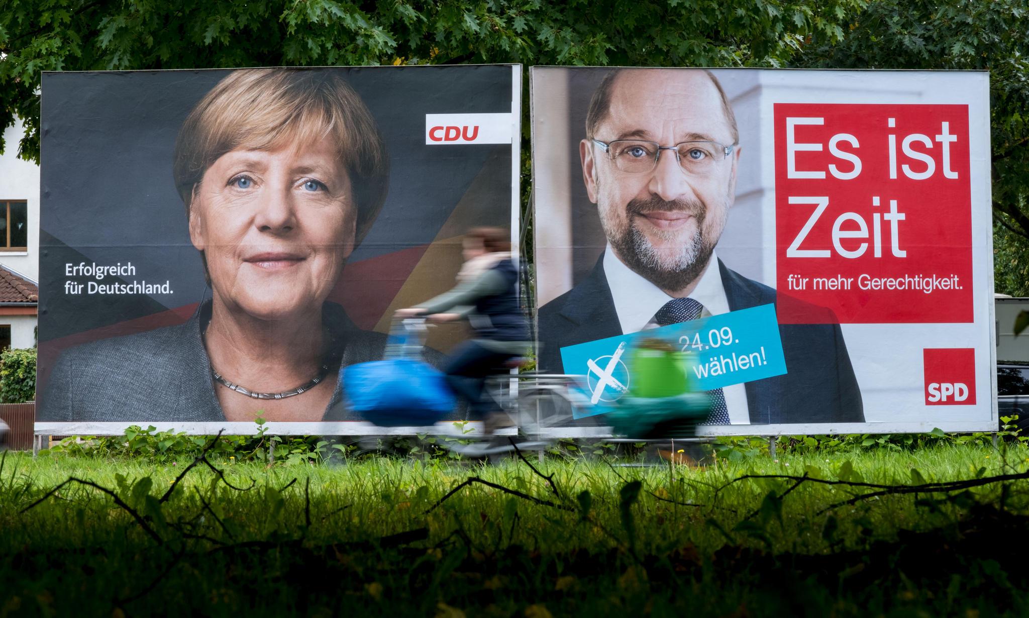 Wahlkampf-Rhetorik: So verpacken Angela Merkel und Martin Schulz ...