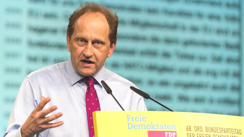 Alexander Graf Lambsdorff, Vize-Präsident des Europäischen Parlaments und Mitglied des FDP Präsidiums