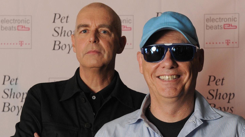 Die Pet Shop Boys Neil Tennant und Chris Lowe