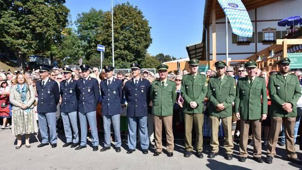 Die deutschen Polizeikräfte werden beim Oktoberfest in München von Kollegen aus Italien unterstützt