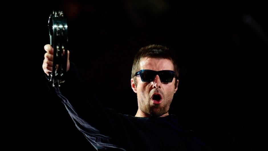 Auf Krawall gebürstet: Liam Gallagher im Juli beim spanischen Benicassim-Festival in seinem Element