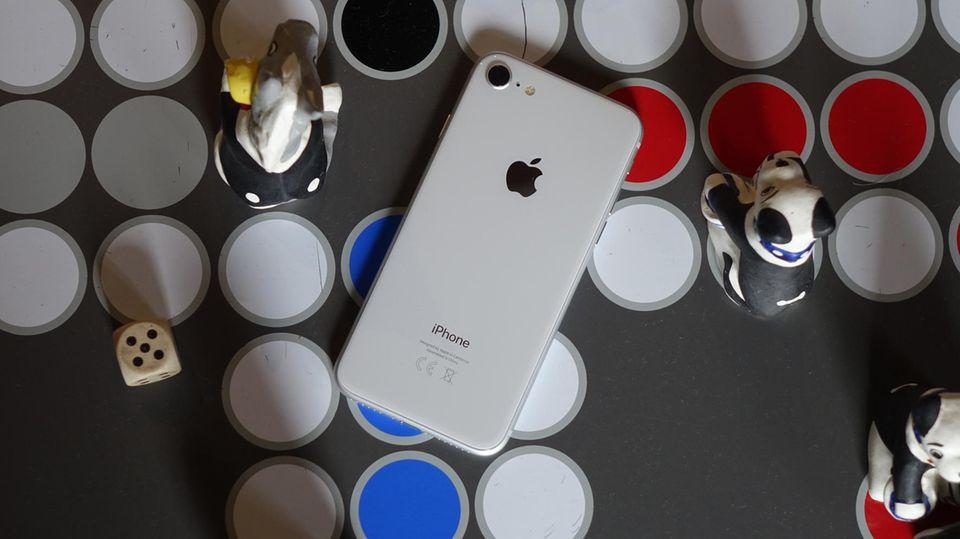 Neues Apple-Smartphone: iPhone 8 im Test: Das Letzte seiner Art