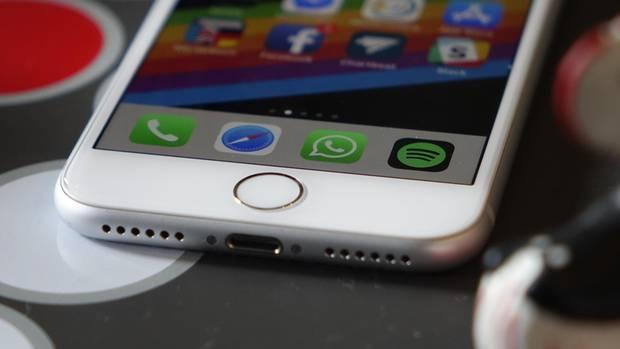 Das iPhone 8 hat noch einen Fingerabdruckscanner