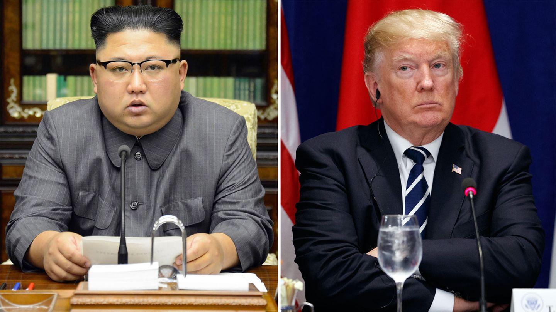 Atomkonflikt: Kim Jong Un und Donald Trump: Nordkorea versteht Äußerungen von Trump als Kriegserklärung