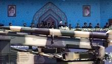 Iran Rakete Parade