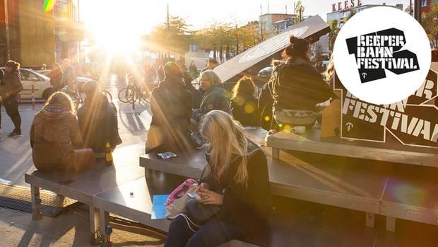 Der Spielbudenplatz beim Reeperbahn Festival