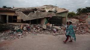 Die Folgen des Erdbebens vor wenigen Tagen sind in Mexiko noch deutlich sichtbar