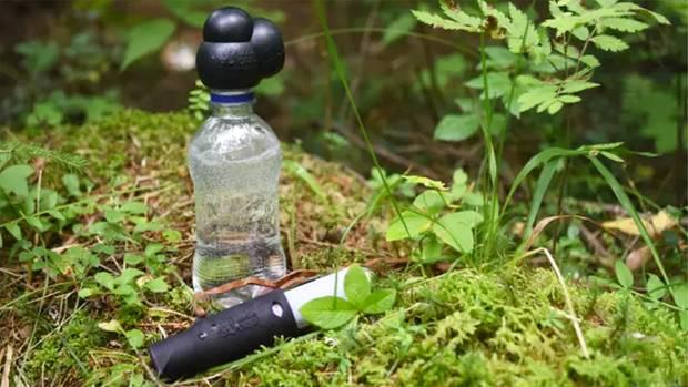 BubbleCap: Finne entwickelt Mini-Wassersprudler für unterwegs