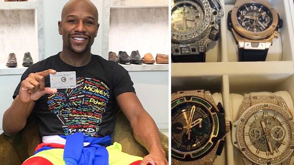Boxer Floyd Mayweather protzt mit seiner Luxusvilla