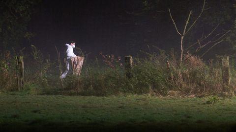 In einem Park bei Dülmen (Nordrhein-Westfalen) ist ein toter Säugling gefunden worden