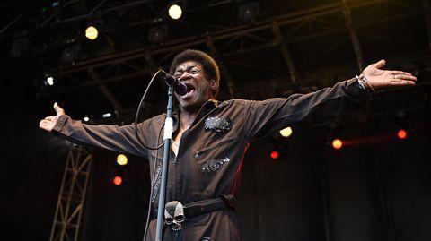 Soul-Sänger Charles Bradley bei einem Festival in Pasadena, Kalifornien
