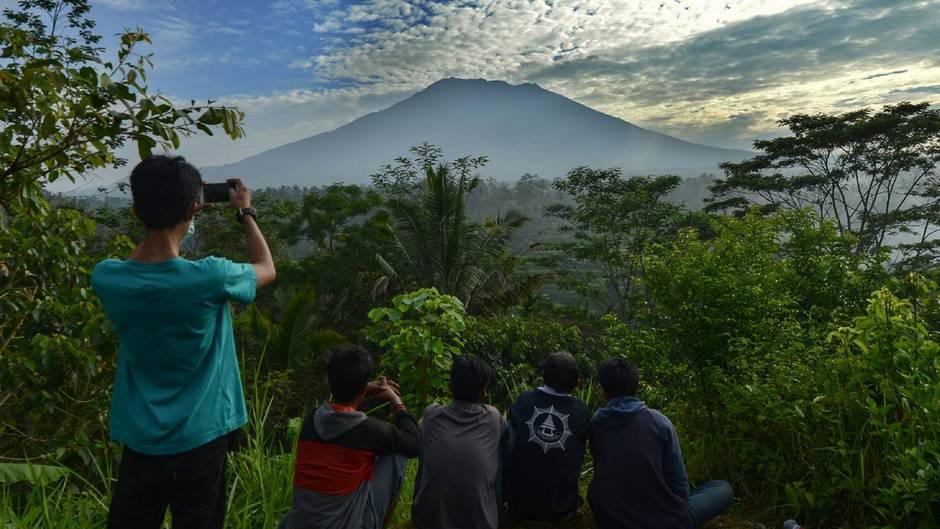 Balis Vulkan Mount Agung