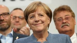 Angela Merkel steht vor schwierigen Koalitionsverhandlungen