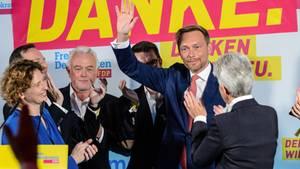 FDP: Einzug in den Bundestag