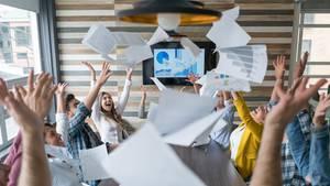 Beste Stimmung am Arbeitsplatz: Aber ist die Firma wirklich so cool, wie sie in der Stellenanzeige behauptet?