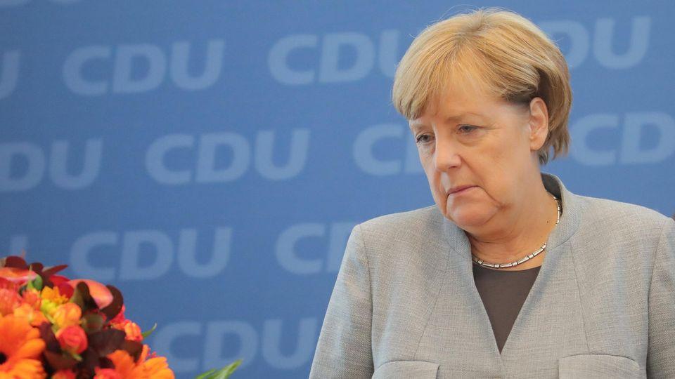 Bundeskanzlerin Angela Merkel stehen schwierige Zeiten bevor