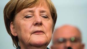 CDU: Angela Merkel erlebte mit der Union ein Wahldebakel