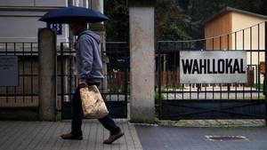 AfD: Wahllokal in Rathmannsdorf