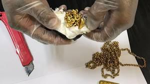 Sri Lanka: Flugpassagier mit knapp einem Kilo Gold im Hintern gefasst