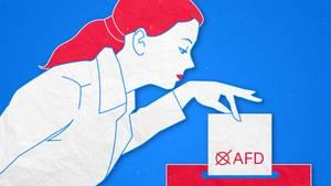 Anna ist jung, gebildet, erfolgreich. Anna wählt AfD.