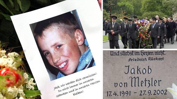 Jakob von Metzler wurde nur elf Jahre alt (Archivbilder)