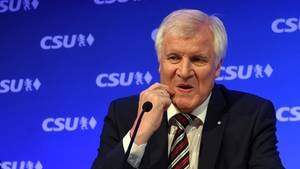 CSU-Chef Horst Seehofer bekommt Gegenwind