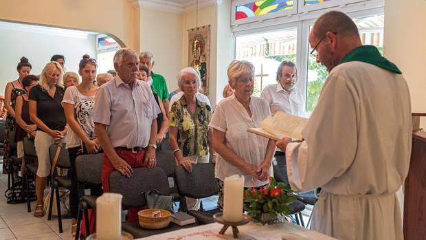 Pfarrer Ludger Paskert steht der deutschen katholischen Gemeinde in Antalya vor