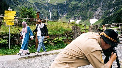 Zell am See: Gaudi-Arabien im Alpen-Paradies in Österreich