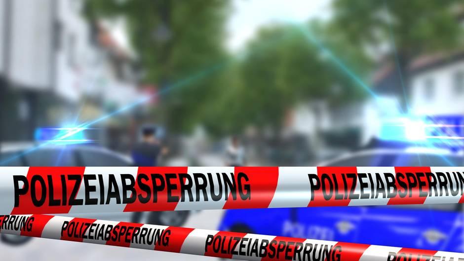 Polizei Absperrband