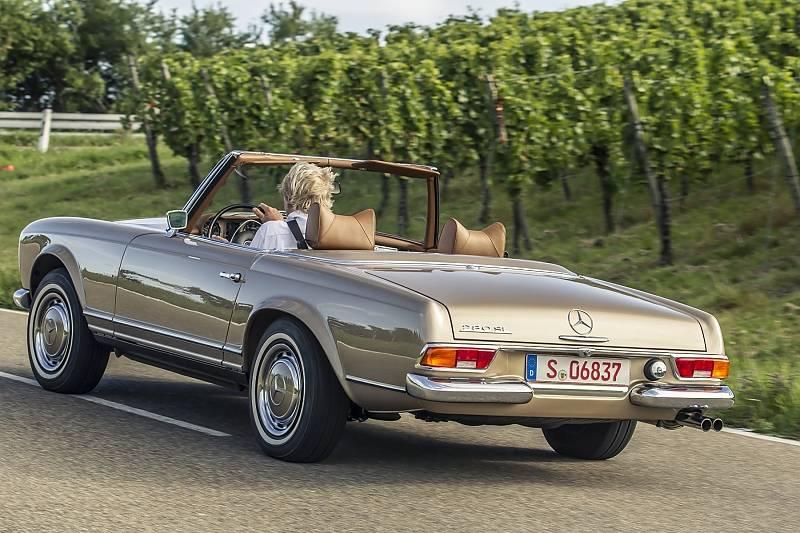 Mercedes 280 SL Pagode W 113 - ein schöner Rücken.....