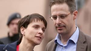 Frauke Petry und ihr Ehemann Marcus Pretzell treten aus der AfD aus