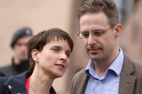 Eklat nach der Bundestagswahl: Chaostage bei der AfD: Frauke Petry und ihr Ehemann Marcus Pretzell planen Parteiaustritte