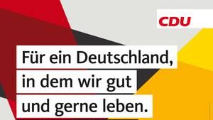 """""""Jung von Matt"""" kreierte die CDU-Werbekampagne zur Bundestagswahl 2017"""