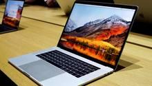 Ein Macbook Pro mit macOS High Sierra