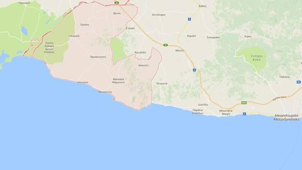 In der Nähe von Maronia in Griechenland wurde der Leichnam einer britischen Touristin gefunden