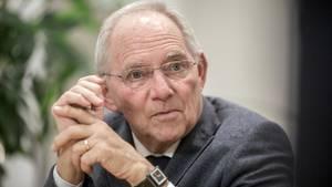 Wolfgang Schäuble CDU Bundestag