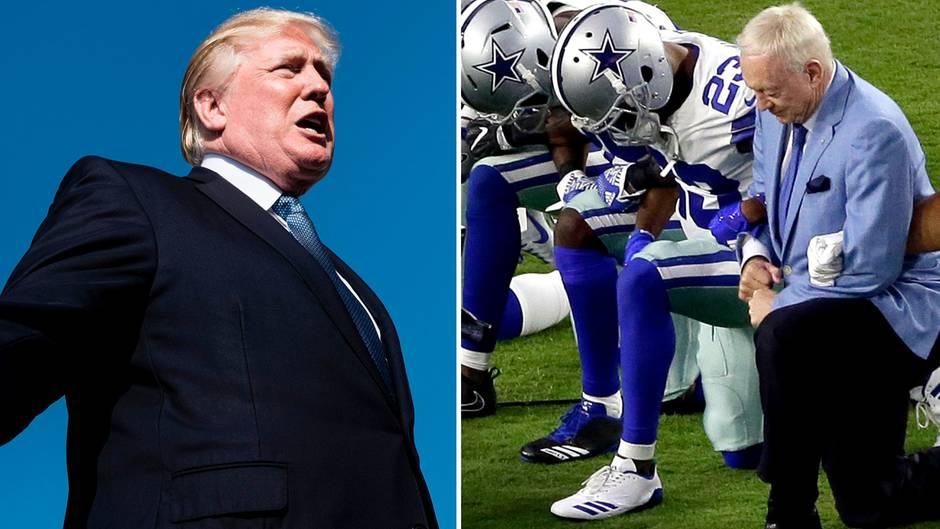 NFL-Streit: Trump legt nach und wettert gegen US-Sportler