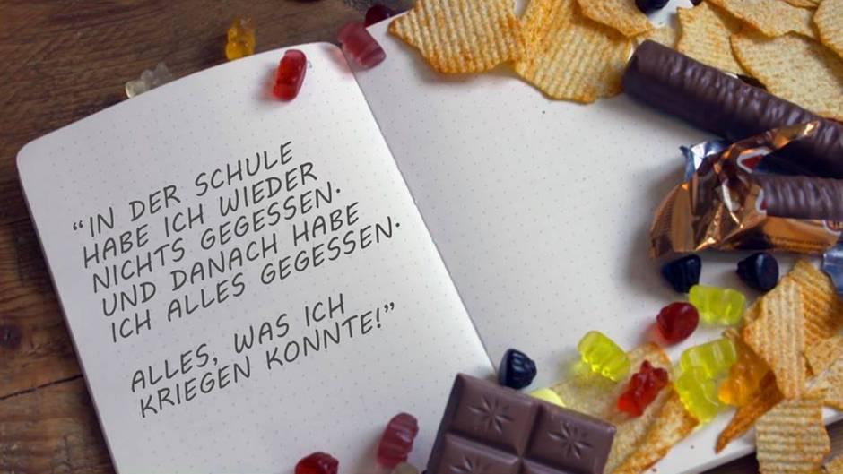 Zitat: Jana Crämer, leidet seit Jahren an Binge Eating.