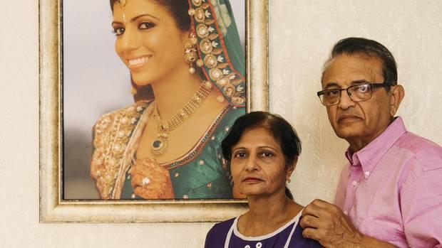 Annis Eltern Vinod und Nilam Hindocha leben im schwedischen Mariestad. Sie können ihre Tochter nicht loslassen