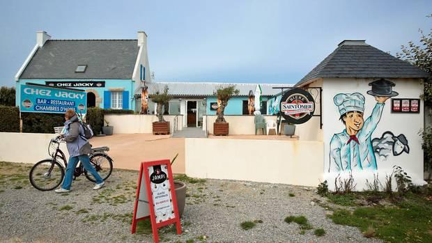 Restaurant und Unterkunft auf der 15 Quadratkilometer großen Insel