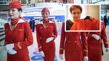 Aeroflot: Stewardess klagt gegen russische Fluggesellschaft