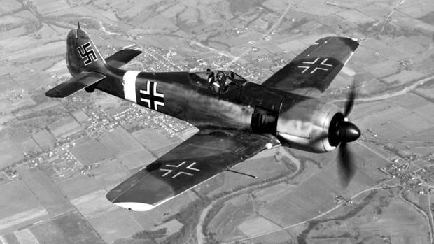 Von der FW 190 wurde die Versionen F und G zum Einsatz gegen Bodenziele ausgerüstet-
