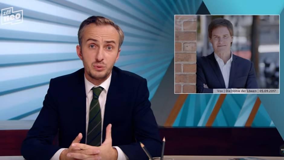 Jan Böhmermann knöpft sich Carsten Maschmeyer vor