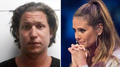 Vito Schnabel und Heidi Klum